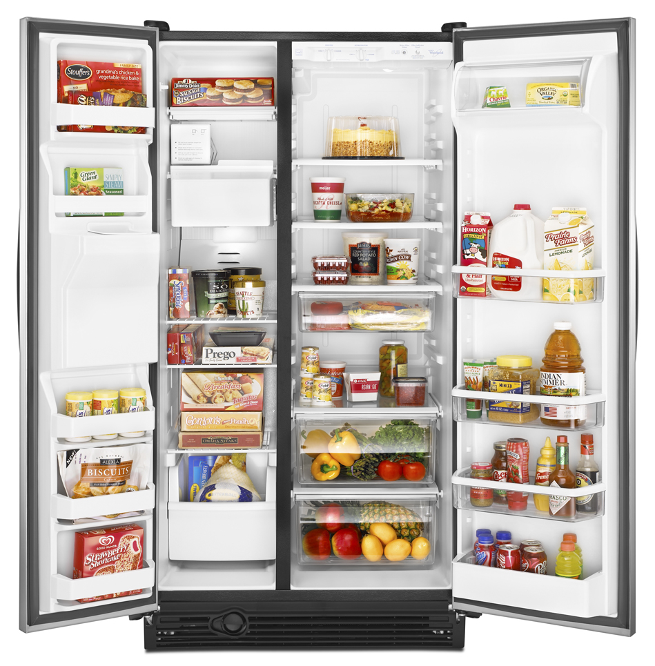 Open The Refrigerator Stainless Steel Refrigerator