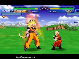 Download Game dragon ball z shin budokai psp for pc Full Version ZGASPC