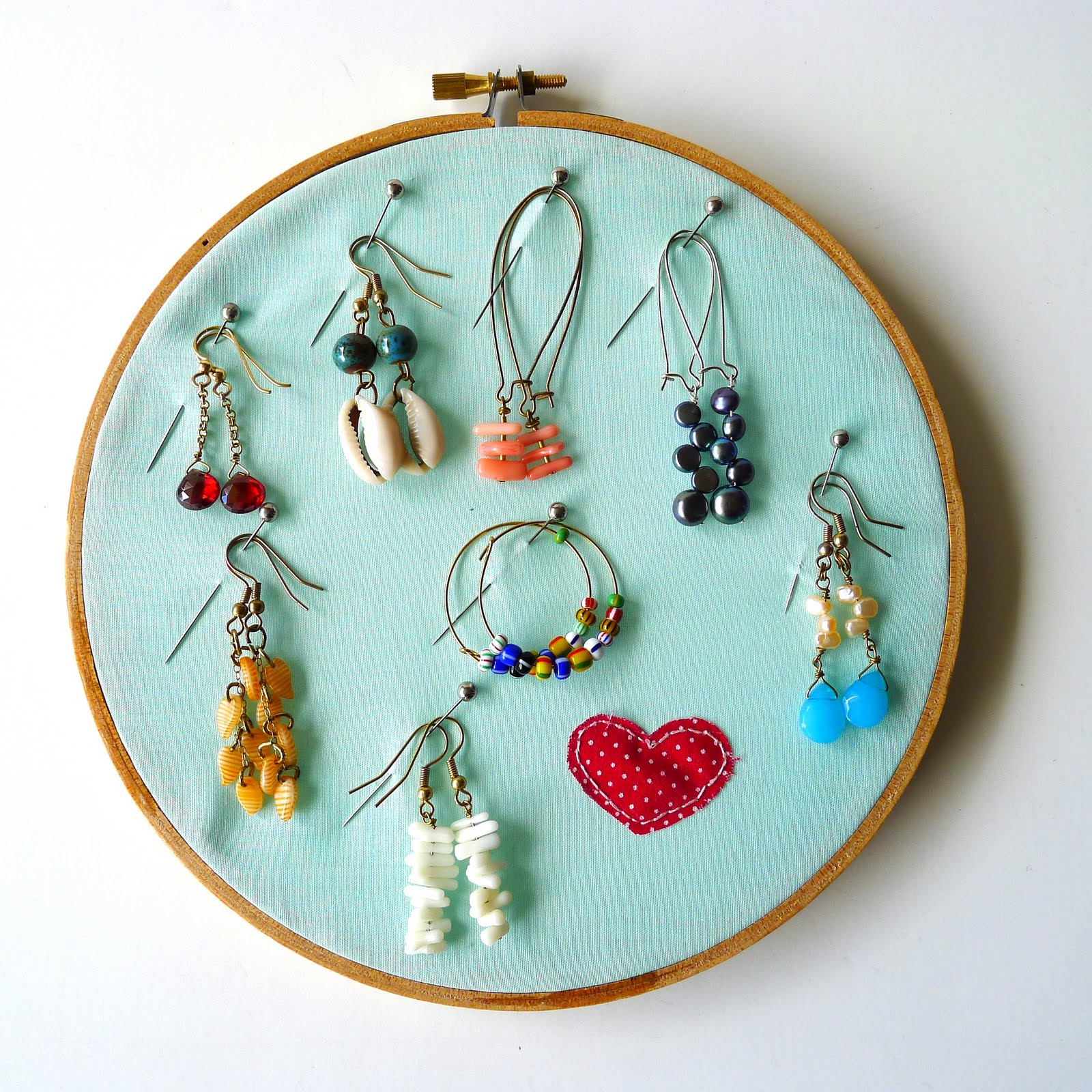 Embroidery Hoop Ring Holder