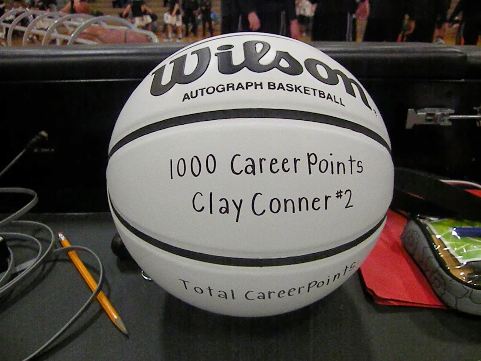 1,000 Career Points - Clay Conner