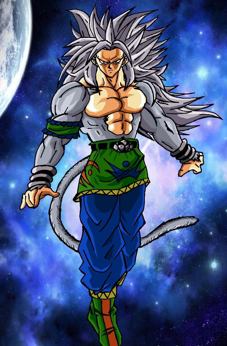 Dragon ball z goku super saiyan 5 - Goku super sayan 5 ...
