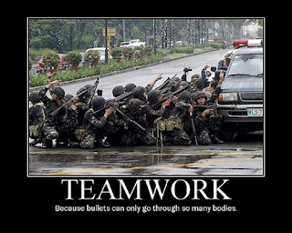 funny weapons fail picture asian military teamwork