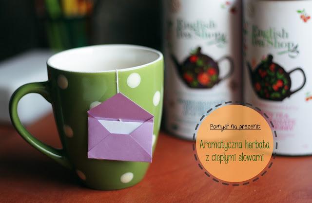 Poradnik DIY prezent herbata