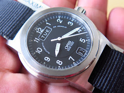 ORIS MILITARY MID SIZE BLACK DIAL - AUTOMATIC