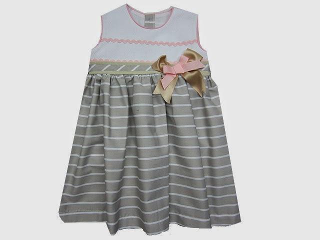Vestido niña 2 a 10 años.