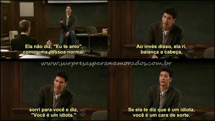 Tag How I Met Your Mother Frases Amizade