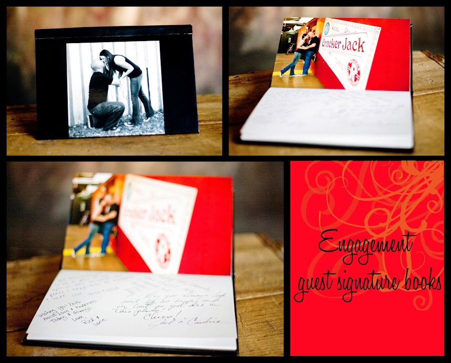engagement guest signature book