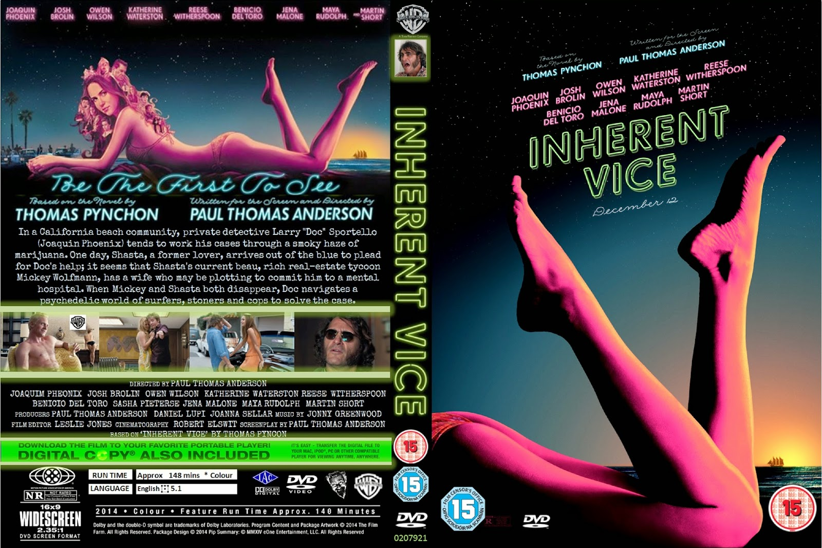Download Vício Inerente BDRip XviD Dual Áudio getdvdcovers inherent vice 2
