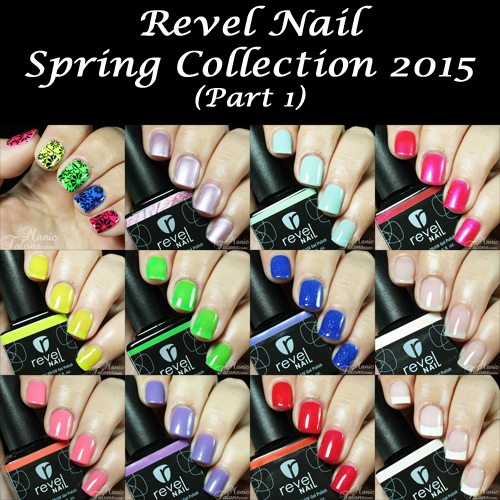 Manic Talons Nail Design Revel Nail Spring Collection 2015 Part 1
