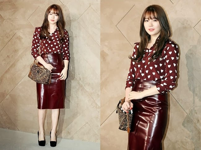 2013 FW Burberry Prorsum RTW Trench Kisses Blouse