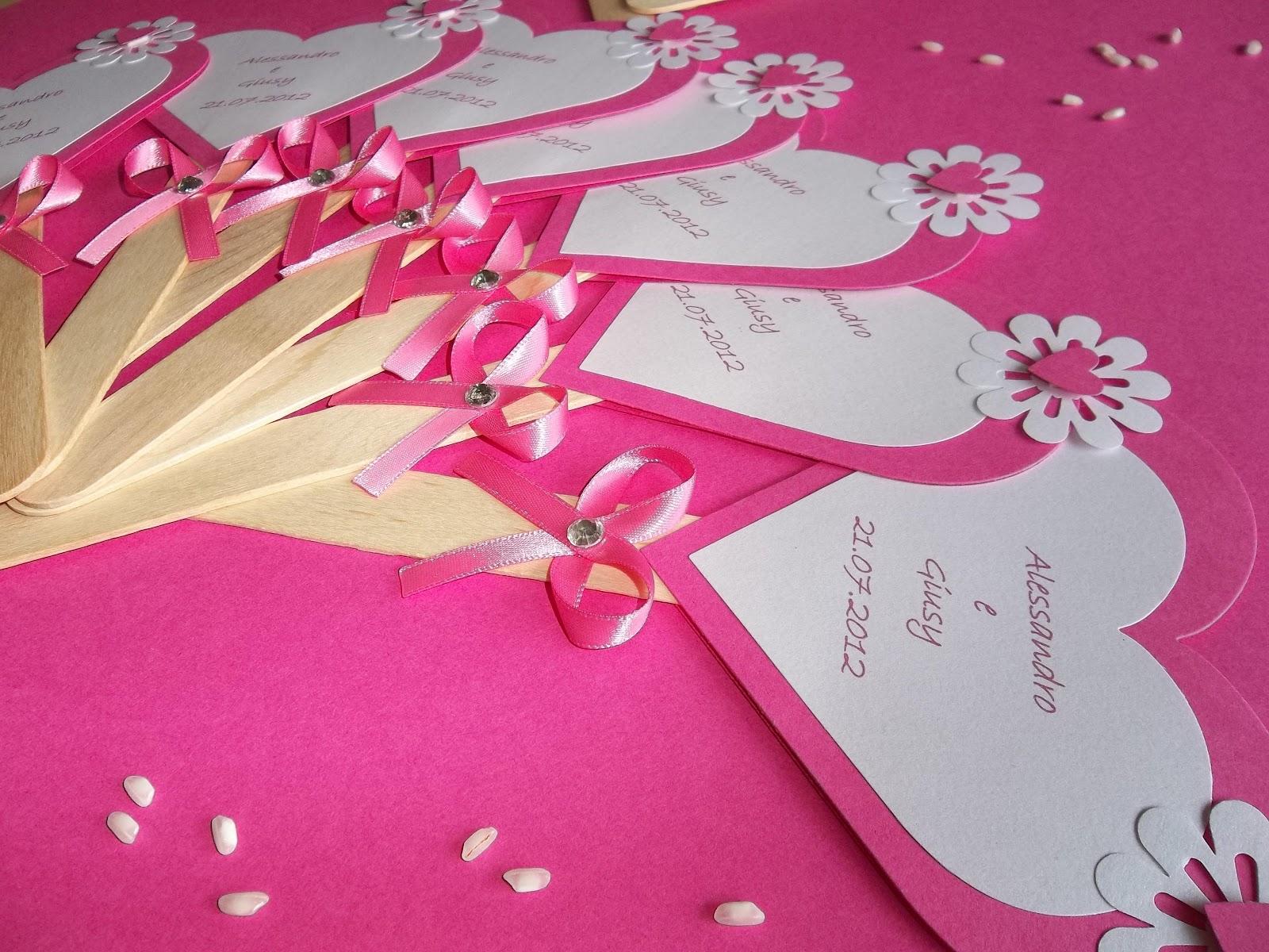 Matrimonio Tema Cuore : Sara crea ventagli a forma di cuore per matrimoni