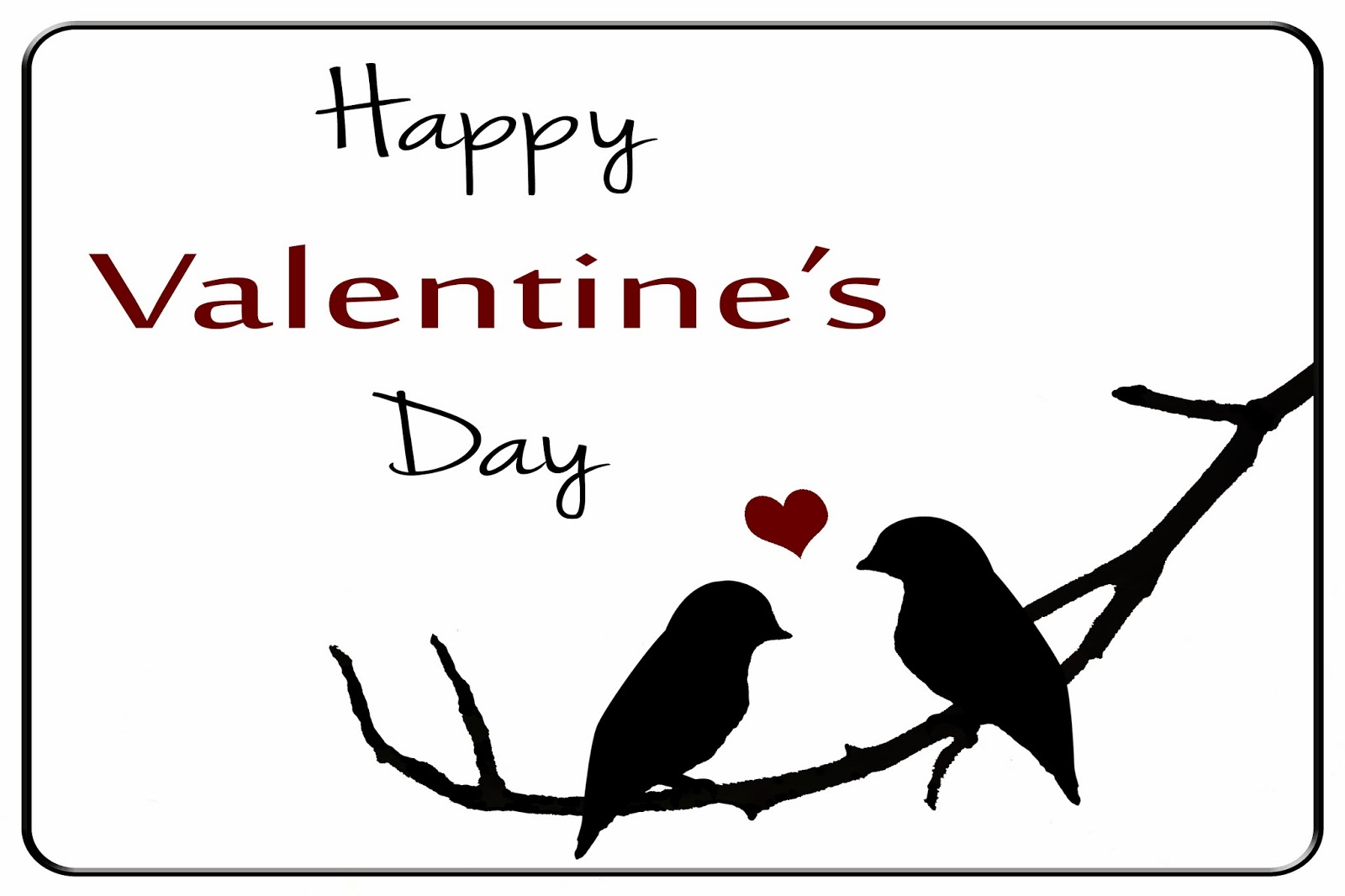 the semifrugal life printable love birds valentines day card