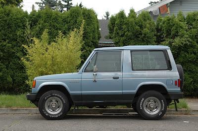 1983 Mitsubishi Montero 2-door
