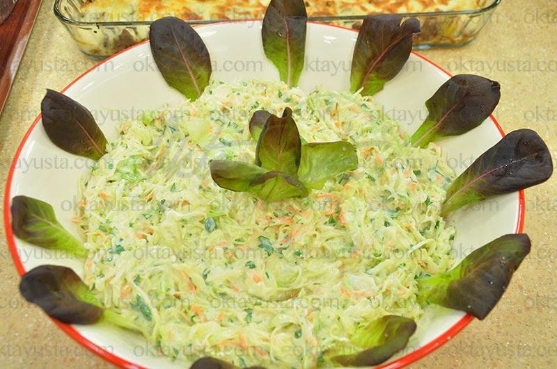Beyaz Lahana Salatası Tarifi Kolay Yapımı