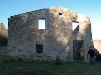 La façana sud-est de Can Serra