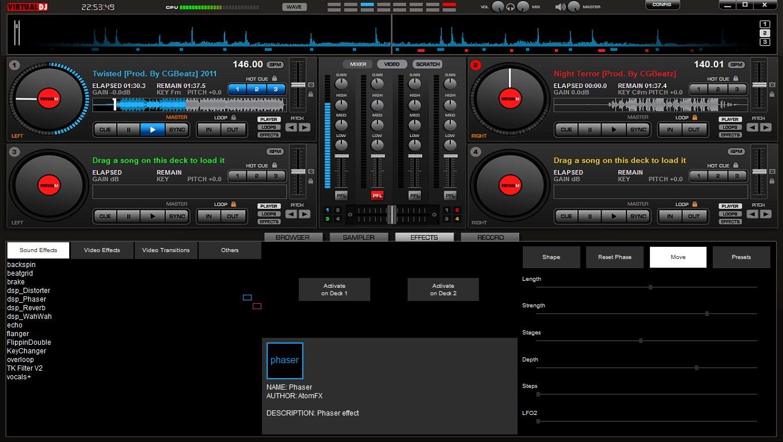 virtual dj patch