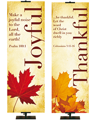 Church Thanksgiving Fall Banners