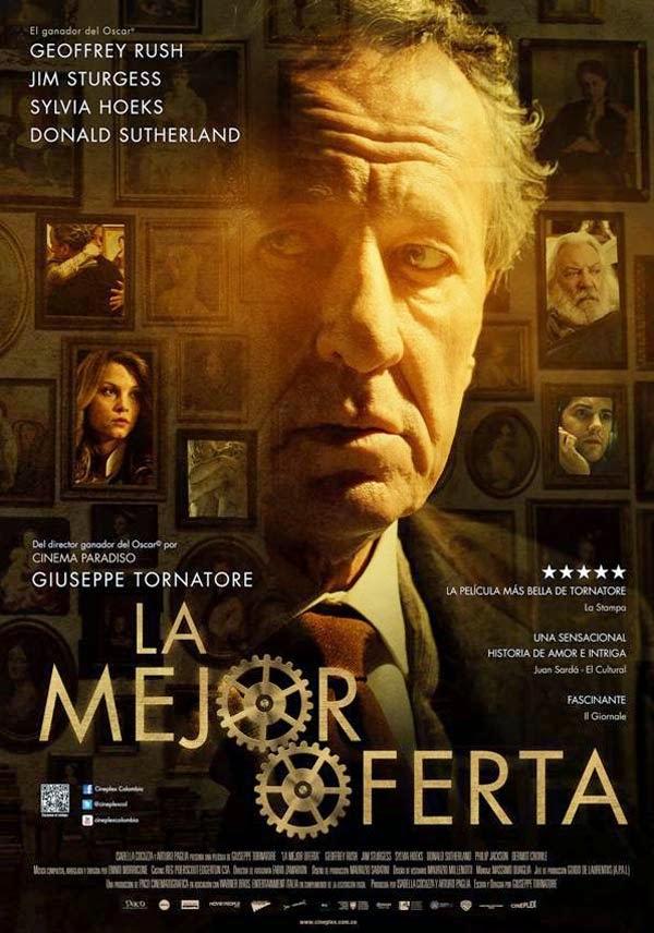 La_Mejor_Oferta_Crítica_Sinopsis_Trailer_2014