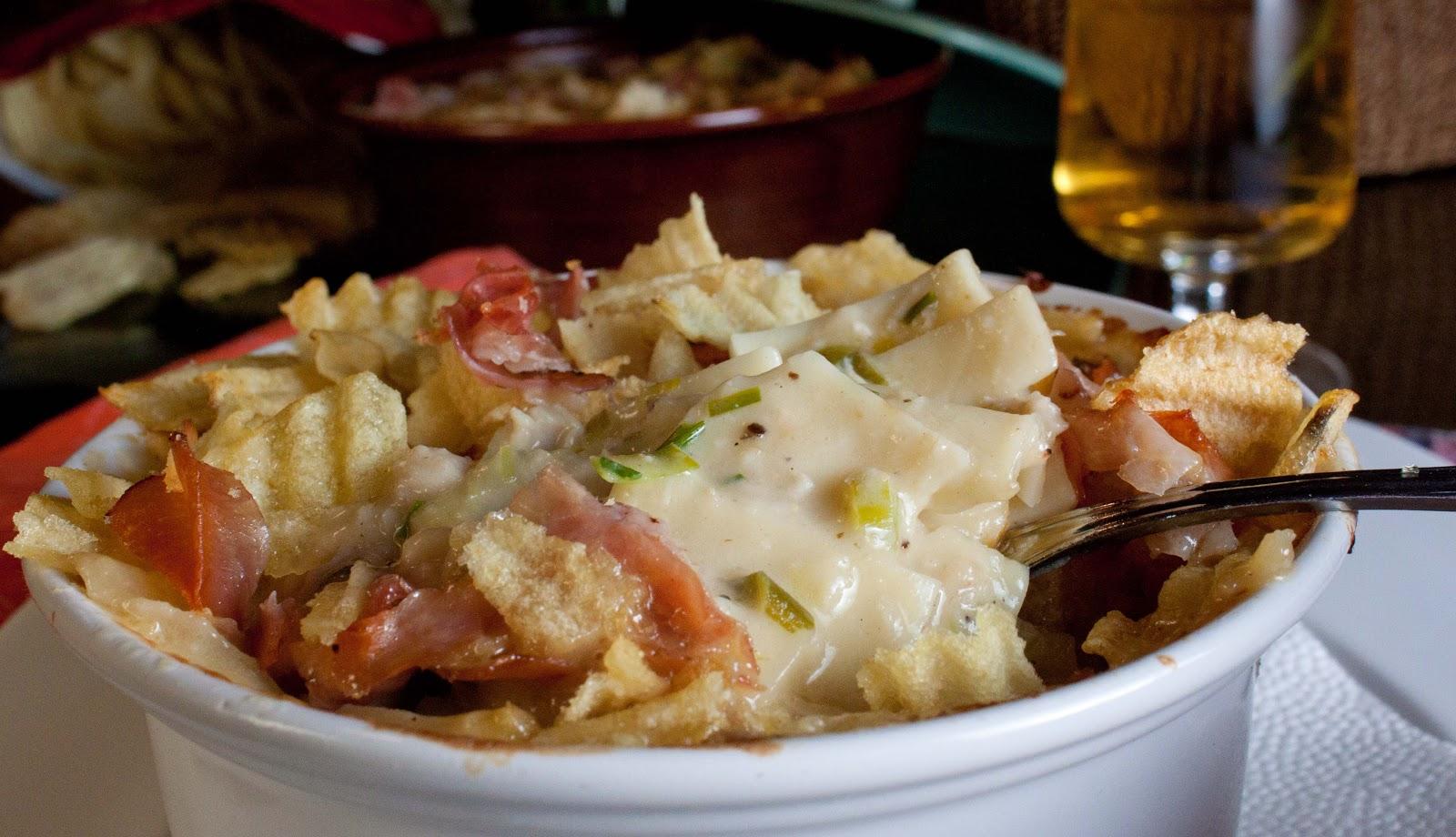 : Thanksgiving Leftovers - Leek, Turkey and Horseradish Mac n Cheese ...