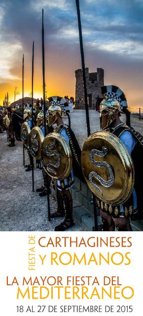 Fiestas Cartagineses y Romanos 2015 Cartagena