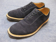 ~50's BLUE SUEDE SHOES                 DOUBLE WELTS