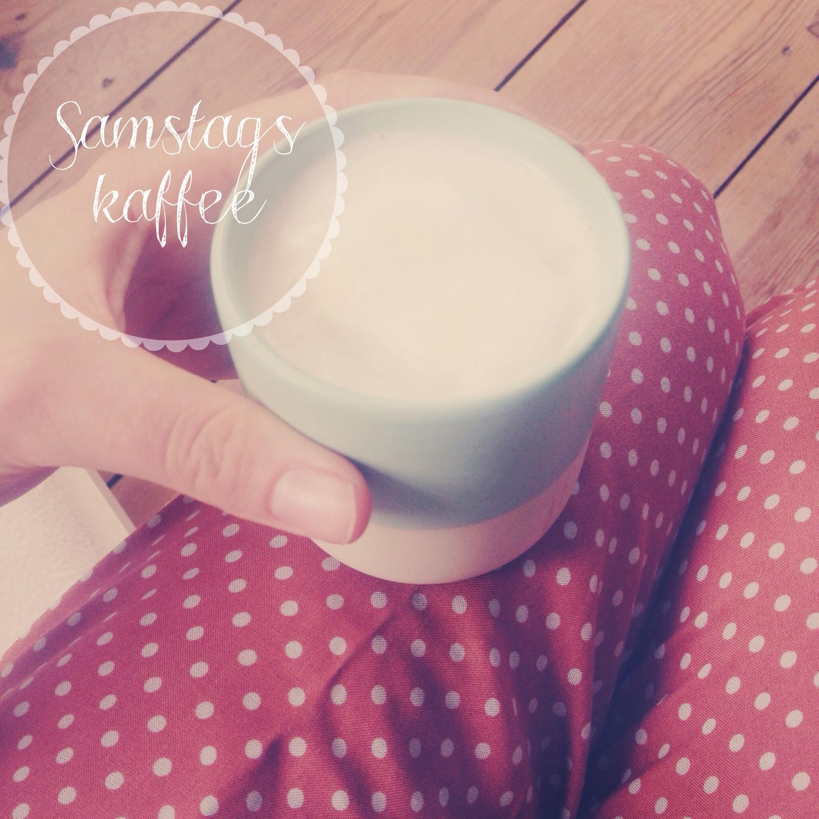 Samstagskaffee ganz gechillt