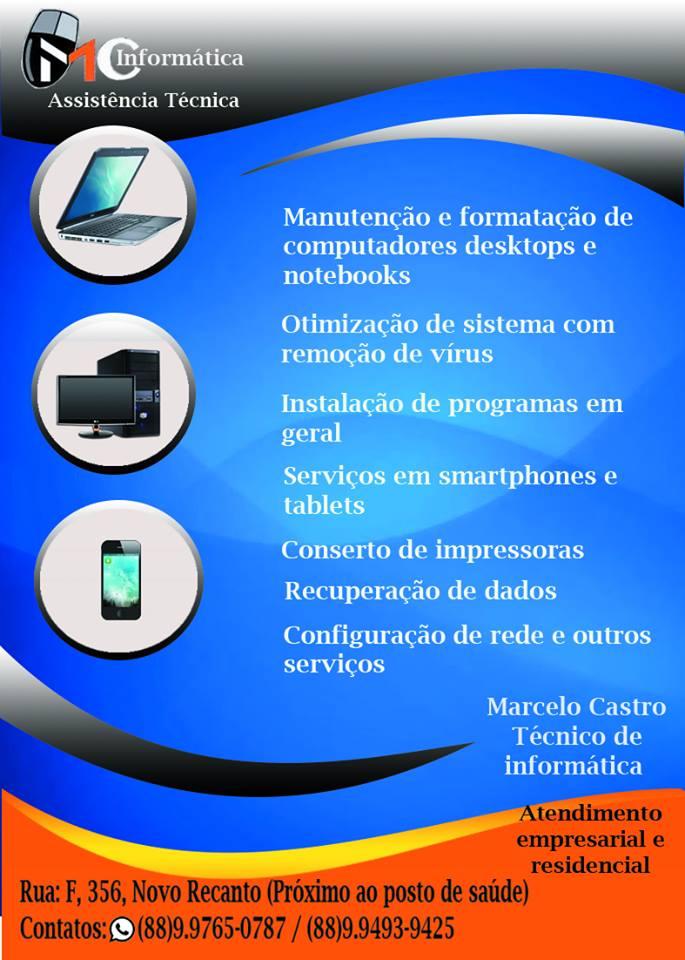 SEU EQUIPAMENTO EM BOAS MÃOS - (88) 99765-0787 /// (88) 99493-9425