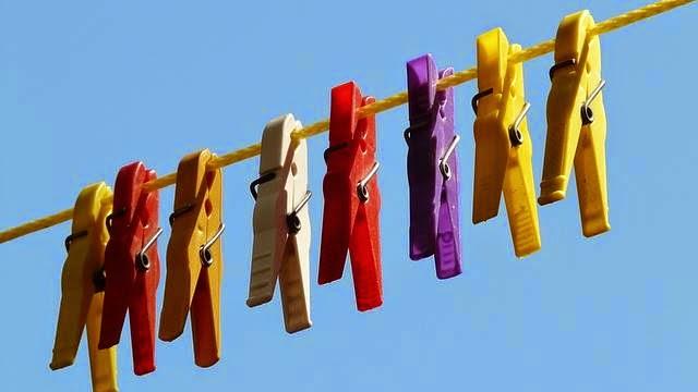 Lavar roupas coloridas