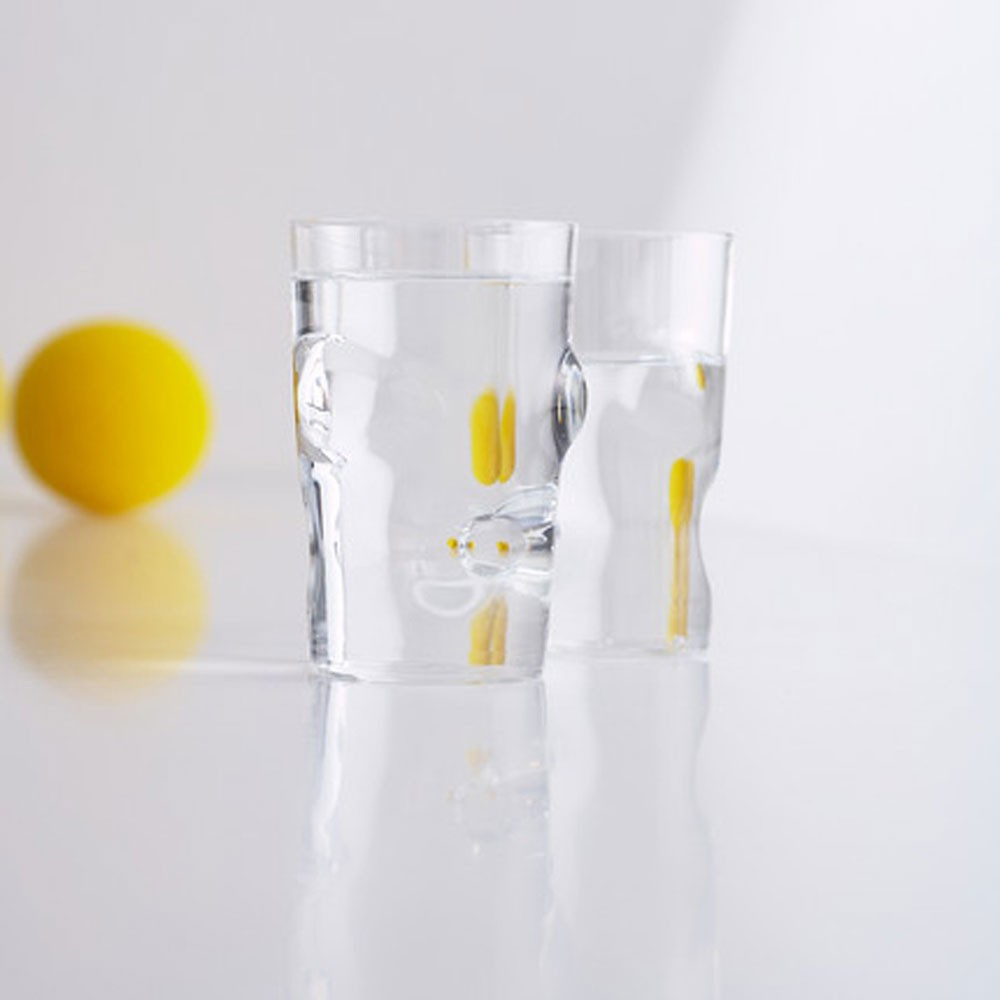 modern interior design set droog optic modern clear water  - optic glass set of  by droog  price match stardust offers the droogoptic glass designed by arnout visser and the best in modern design withfree