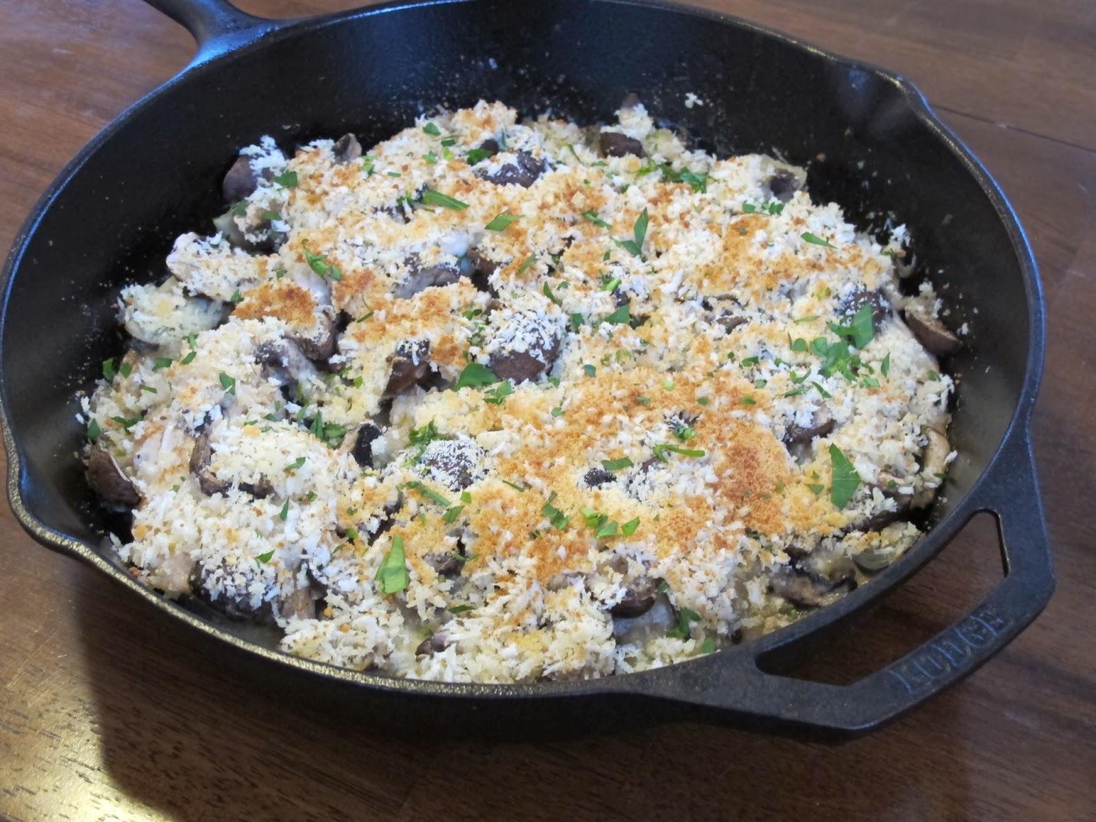 Creamy Chicken, Artichoke, & Mushroom Casserole