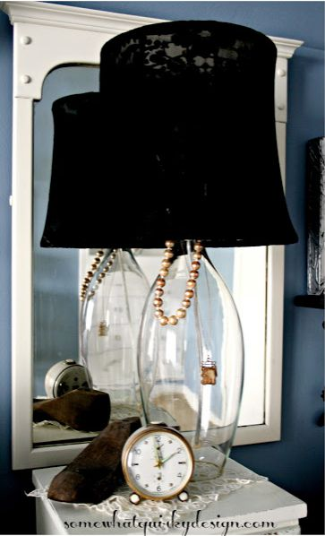 &quot;Little Black Dress&quot; Lamp