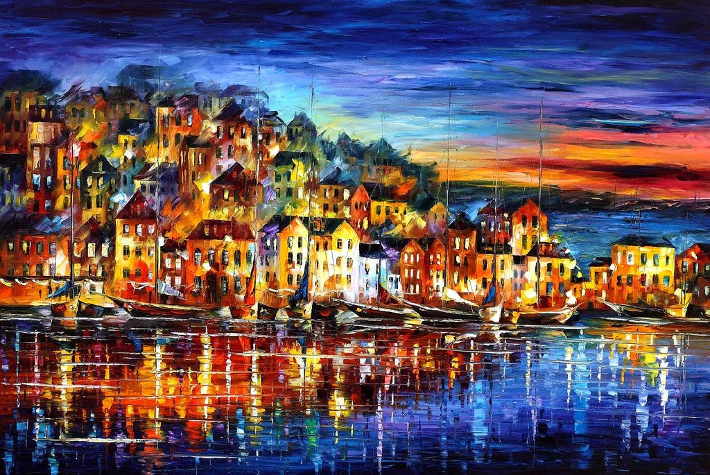 17-Leonid-Afremov-Expression-of-Love-for-the-Art-Of-Painting-www-designstack-co