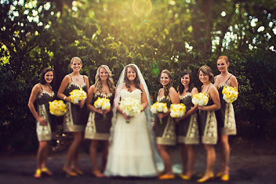 yellow gray wedding8