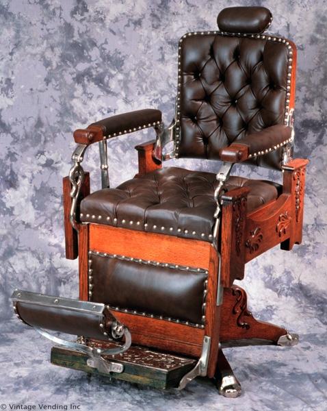 Antique Barber Chair4. Antique Barber Chair - Barber Girl Photos: Antique Barber Chair