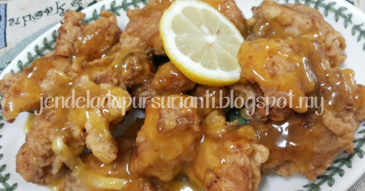 Jom masak Lemon Chicken aka Ayam Lemon sedap