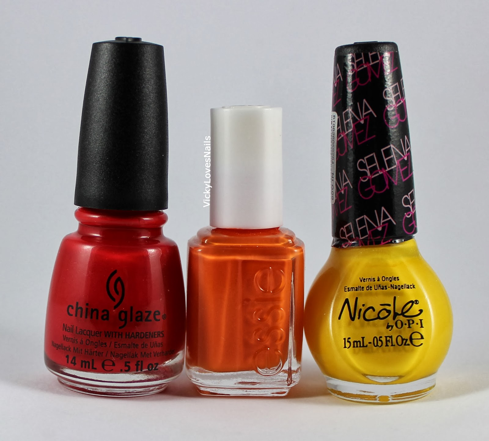 Vicky Loves Nails!: January Tri Polish Challenge: Red, Yellow and ...