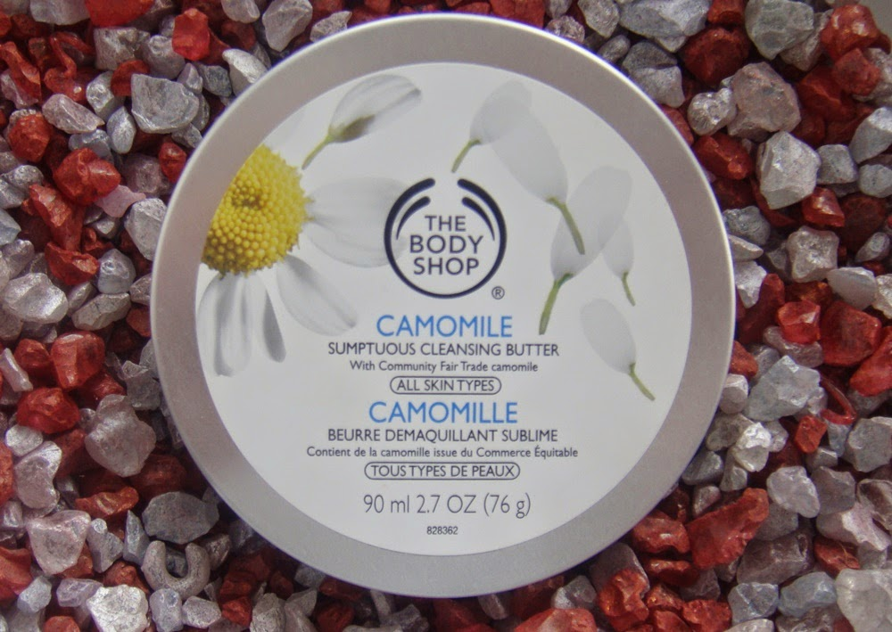 The Body Shop, Camomile Sumptuous Cleansing Butter.