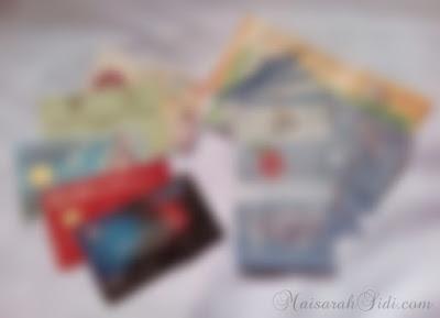 barang dalam wallet