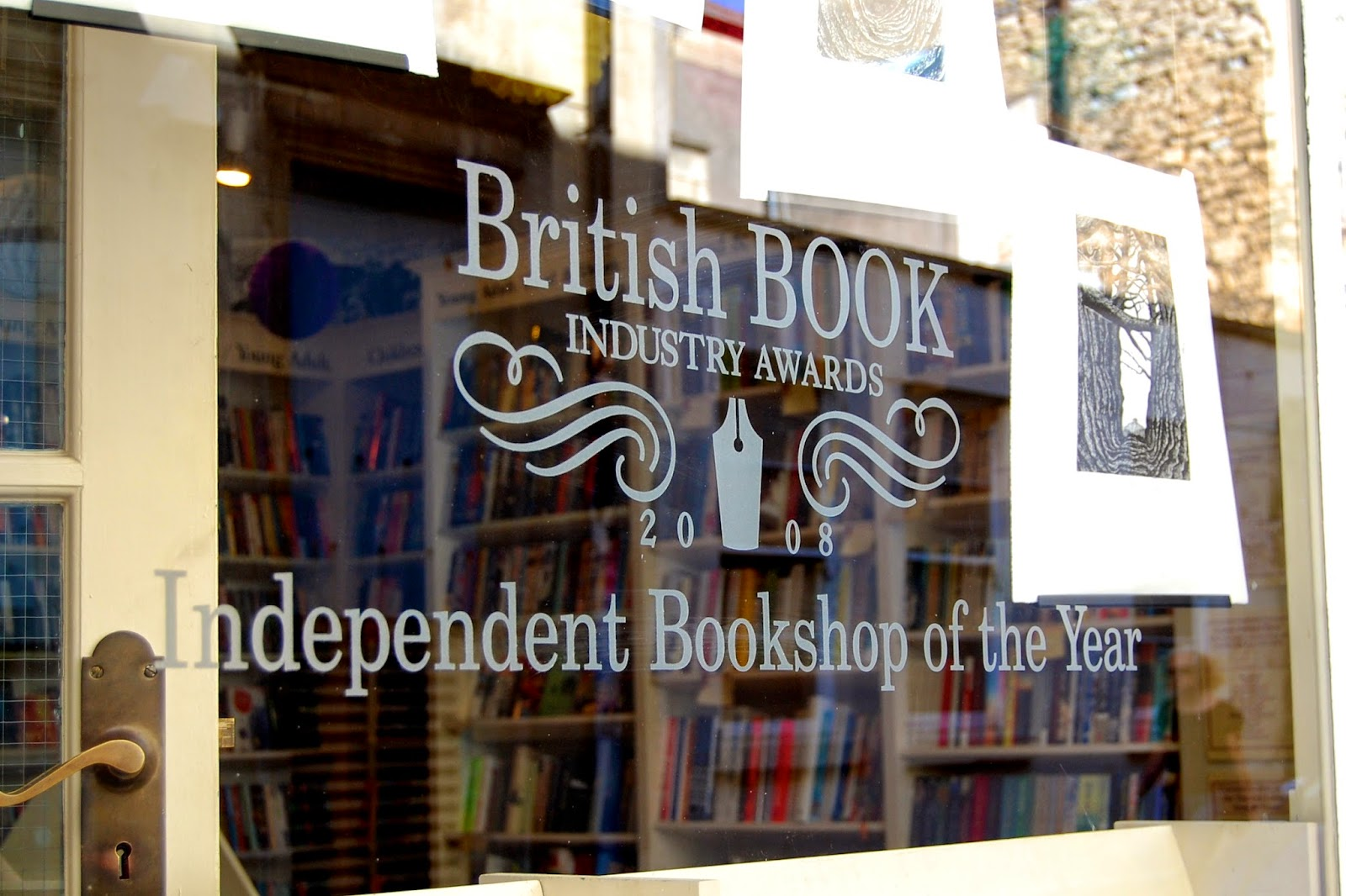 Award-winning bookshop