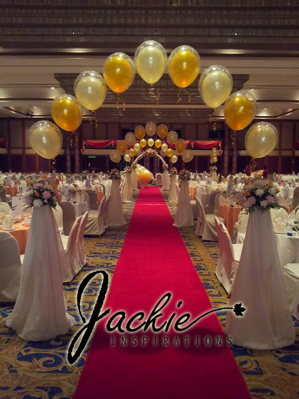 Balloon decorations for weddings birthday parties balloon wedding decoration riverside majestic kuching junglespirit Image collections