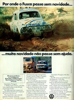 propaganda VW Fusca - 1978