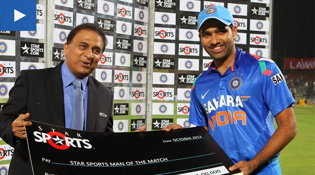 Rohit-Sharma-India-vs-Australia-star-sports-2nd-ODI-2013
