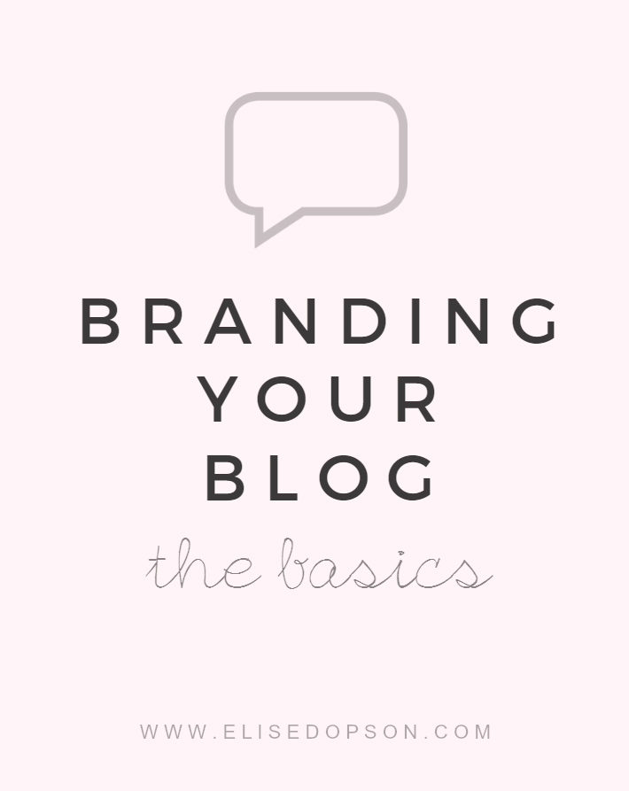 brand your blog, small business, branding