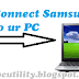 How to connect internet from your Samsung mobile to your PC
