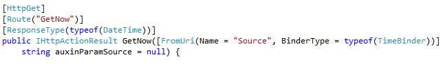 Parameter URL WebAPI