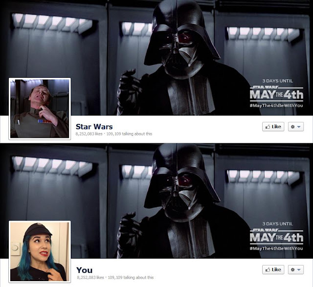 Star Wars facebook timeline picture