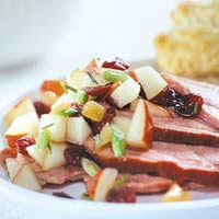 Ginger Pear Relish for Ham