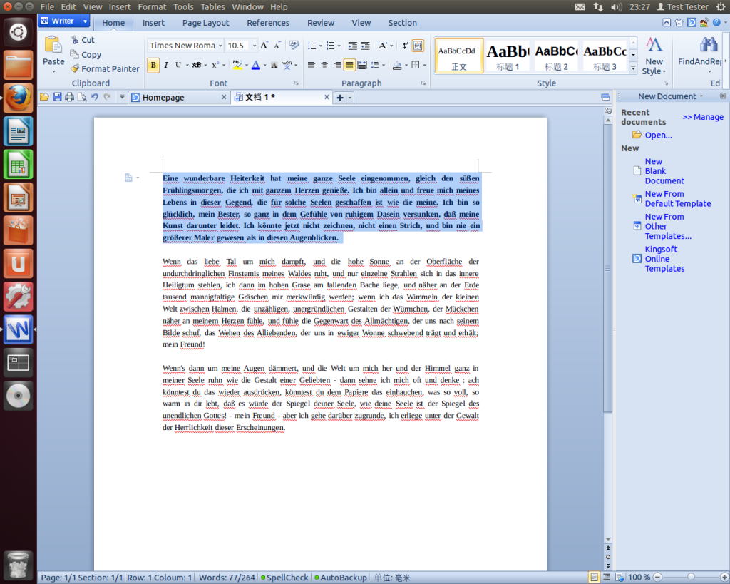 Alternativa Linux para Office 2010/2013