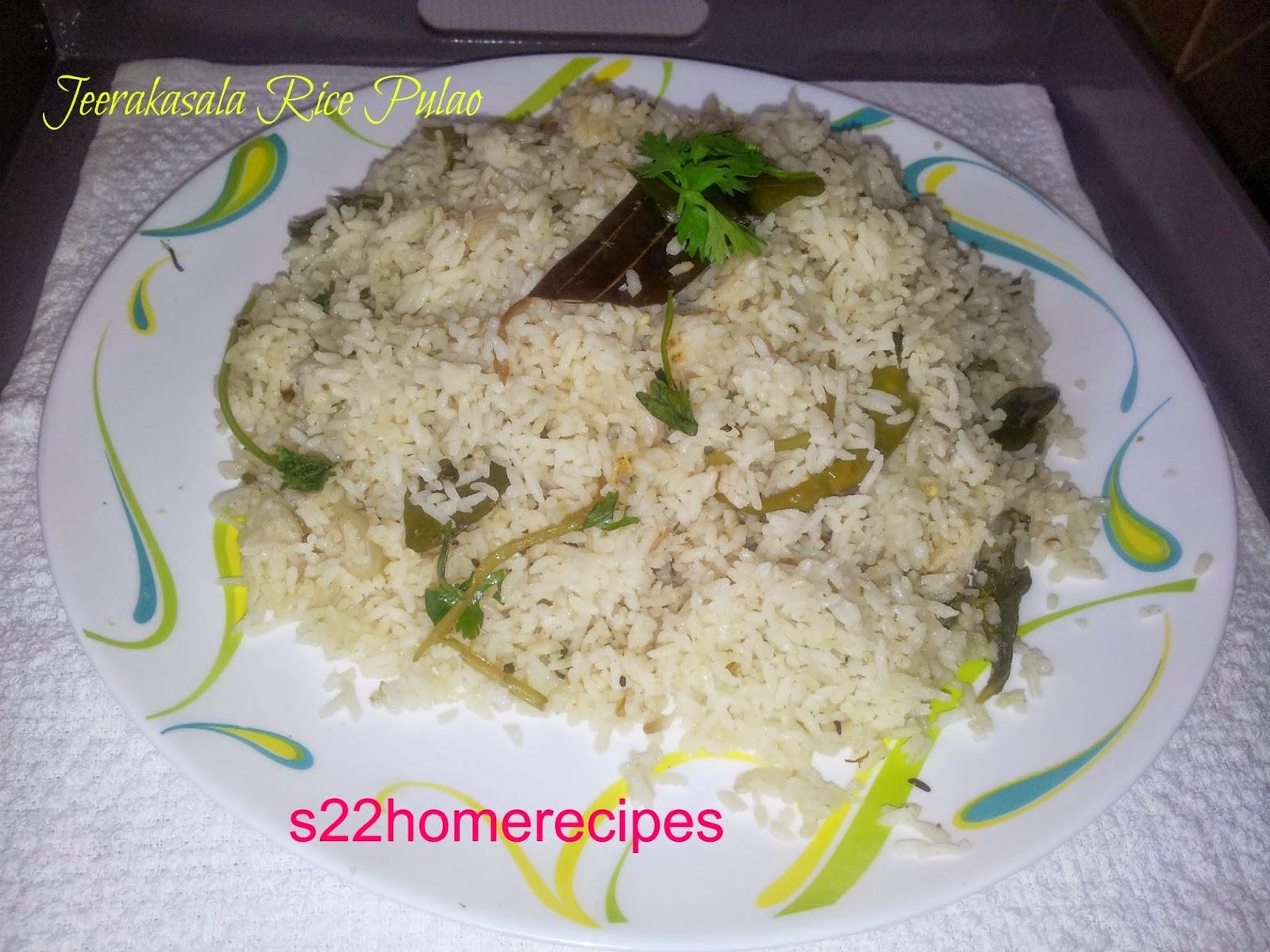 Jeerakasala rice pulao home food delights jeerakasala rice pulaochitti muthayulu pulao ccuart Image collections