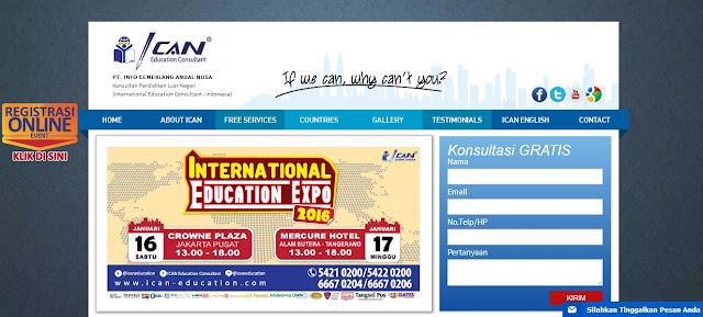 ICAN Education Consultant, Konsultan Pendidikan Luar Negeri, Sekolah di Luar Negeri, Kuliah di Luar Negeri, Universitas di Luar Negeri, Studi ke Luar Negeri